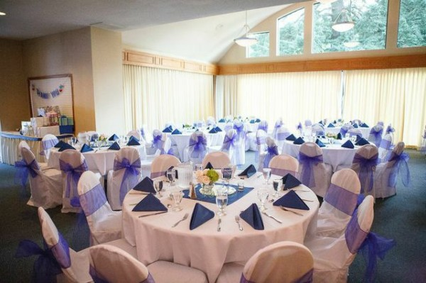 Lakeside Gardens indoor wedding reception