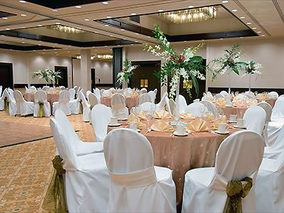 Wedding reception at the Hilton Seattle