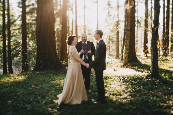 Portland Elopement at Hoyt Arboretum
