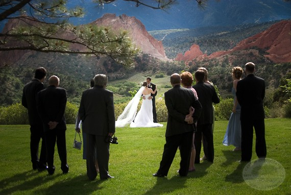 Small Wedding ceremony - Garden of the Gods Club and Resort