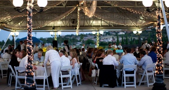 Beautiful Outdoor Pavilion Tent for Wedding Receptions