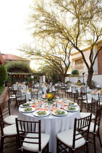 Small outdoor wedding reception - The Stillwell House and Garden