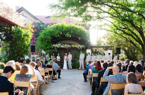Small Wedding Ceremony - The Stillwell House in Tucson