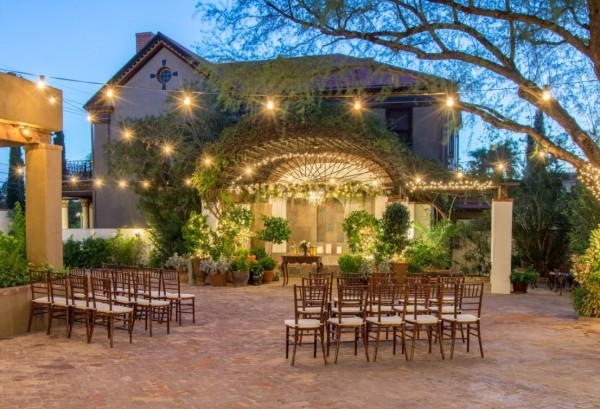 Small wedding venues in tucson arizona small weddings for Places to have a small wedding
