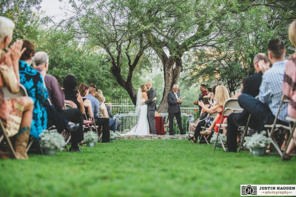 Small wedding ceremony - Corona Ranch Tucson, AZ