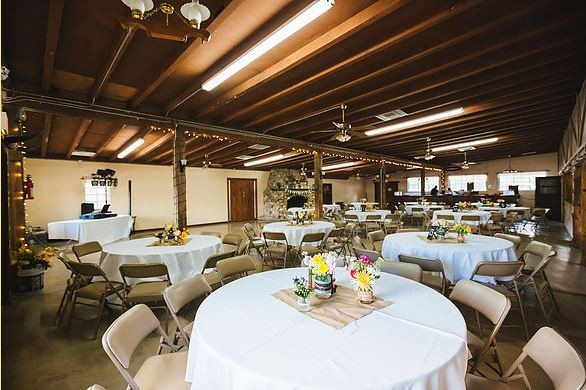 Corona Ranch wedding reception