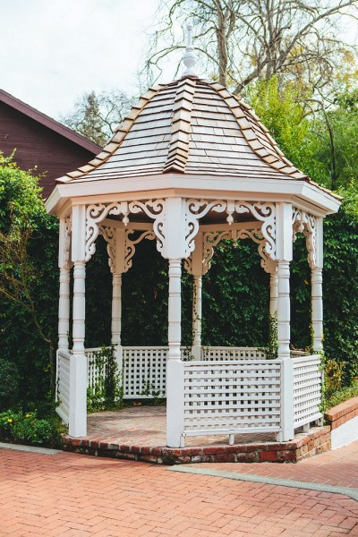 Vizcaya wedding ceremony gazebo