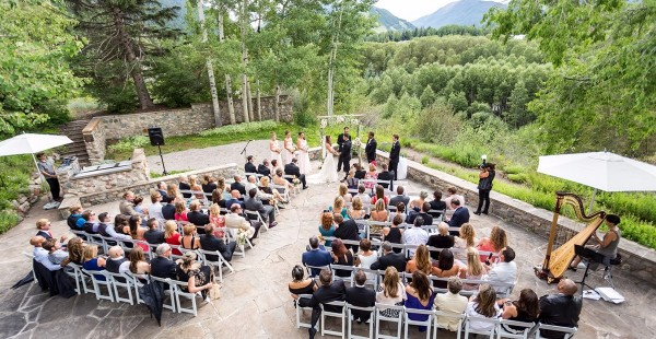 Small Wedding Ceremony - Aspen Meadows Resort