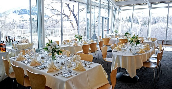 Small wedding reception - Aspen Meadow Resort