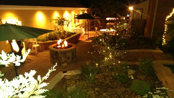 Beautiful Outdoors with Fire Pit at MBSH