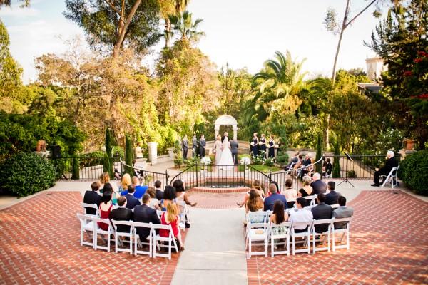 Small Wedding Ceremony In San Go At The Prado Balboa Park