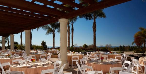 Outdoor Small Wedding Reception Area